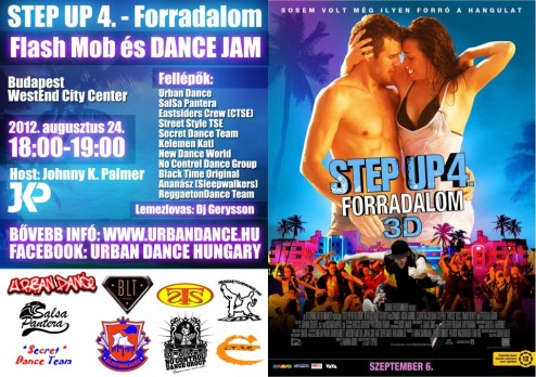 STEP UP 4 - FORRADALOM Flash Mob és Dance Jam