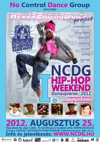 NCDG - INTENSIVE DANCE COURSE & WORKSHOP