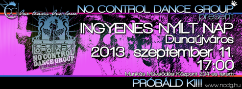 No Control Dance Group – Opening Day 2013