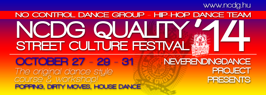 Street Culture Festival '14 – The original dance style course & workshop!