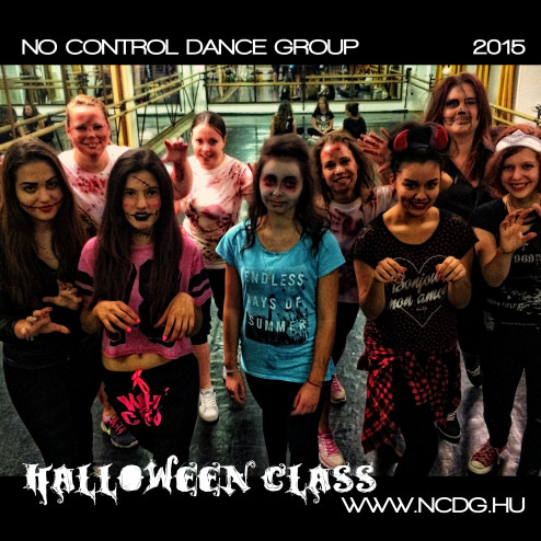 NO CONTROL DANCE GROUP – HALLOWEEN CLASS – 2015