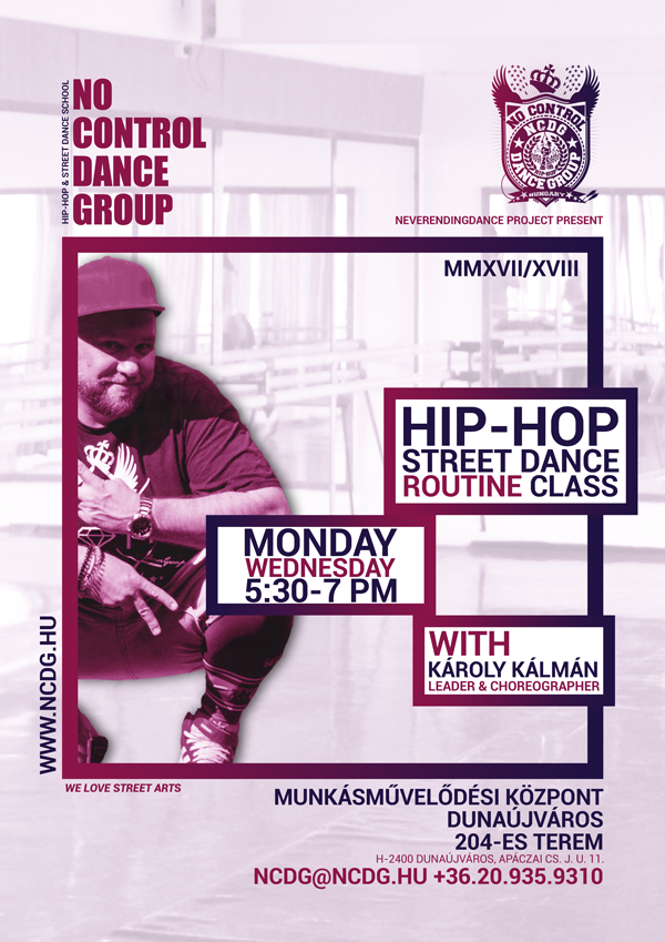 NCDG 20.17/18 - JELENTKEZZ MOST - HIP-HOP DANCE TEAM - HUNGARY